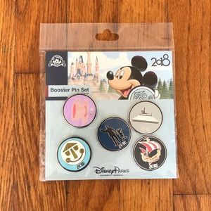 NWT 5 Piece Booster Pin Set